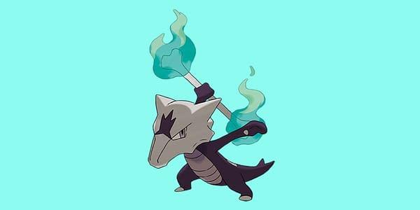 Alolan Marowak is to be featured in a raid day event tomorrow in Pokémon GO. Credit: The Pokémon Company International