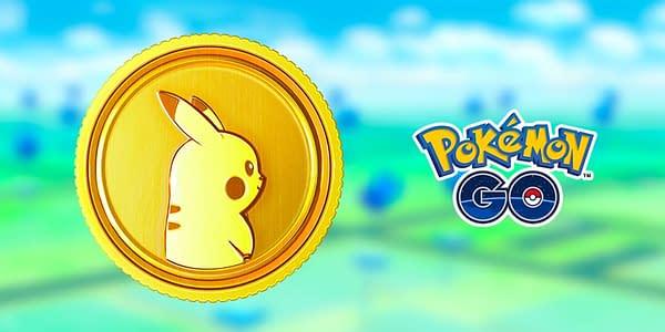 Pokécoin promotional image in Pokémon GO. Credit: Niantic