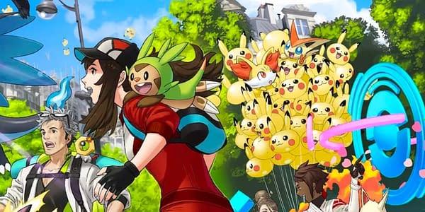 Generation Six teaser image for Pokémon GO. Credit: Niantic