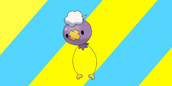 Drifloon will be boosted in Pokémon GO today. Credit: The Pokémon Company International