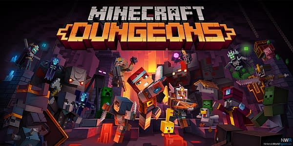 The next update for Minecraft Dungeons will arrive in November, courtesy of Mojang.