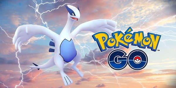 Lugia promotional image for Pokémon GO. Credit: Niantic