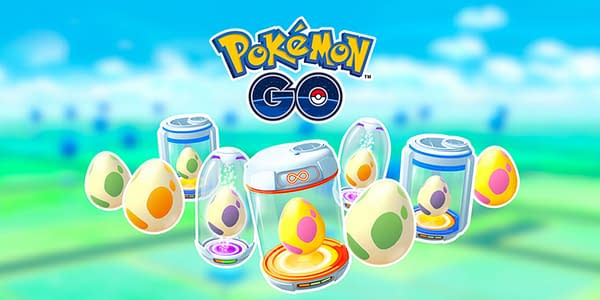 Eggs in Pokémon GO. Credit: Niantic