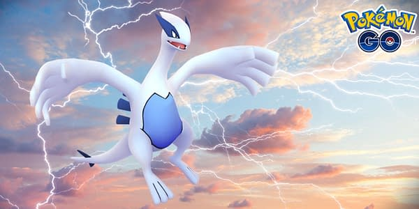 Lugia in Pokémon GO. Credit: Niantic
