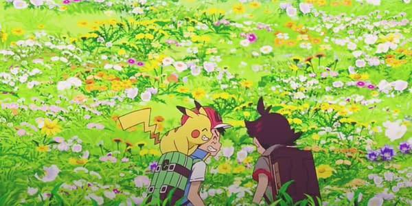 The new Pokémon GO event will tie into the anime. Credit: Pokémon Journeys screenshot