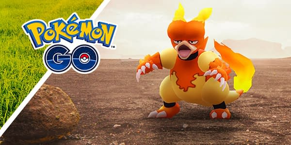 Magmar in Pokémon GO. Credit: Niantic