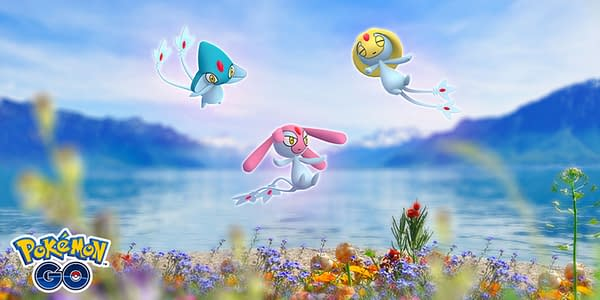 Lake Legends promo image in Pokémon GO. Credit: Niantic