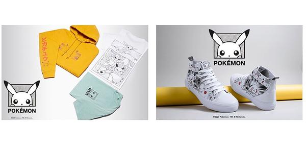 New clothing range. Credit: Pokémon Company International and Zavvi Partner