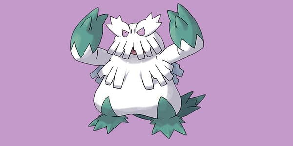 Mega Abomasnow official artwork. Credit: Pokémon Company International