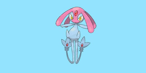 Mesprit official artwork. Credit: The Pokémon Company International