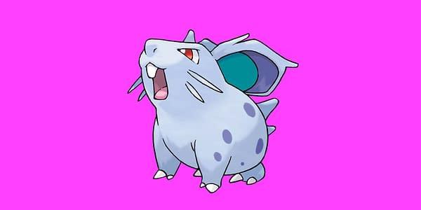 Nidoran F official artwork. Credit: The Pokémon Company International