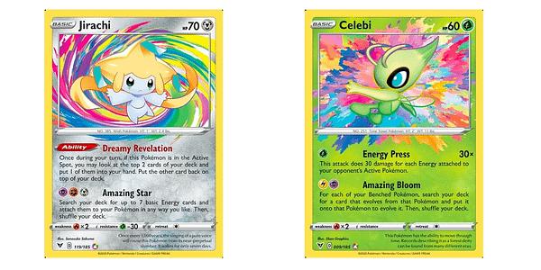 Amazing Rare cards. Credit: Pokémon TCG