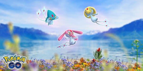 Lake Trio in Pokémon GO. Credit: Niantic