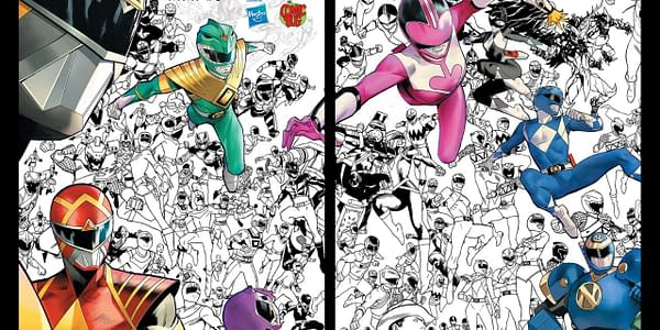 Power Rangers #1 Sells Out 170,000 Print Run, Goes To Second Printing