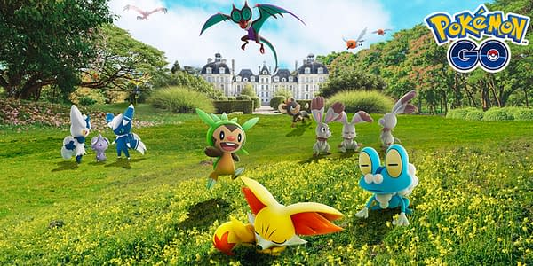 Kalos Event promo image Pokémon GO. Credit: Niantic