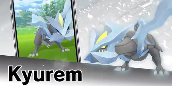 Kyurem promotional image in Pokémon GO. Credit: Niantic