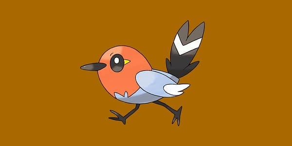 Fletchling official artwork. Credit: Pokémon Company International