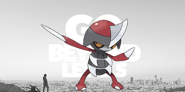 Fletchling official artwork over GO Beyond Levels promo. Credit: Pokémon Company International & Niantic