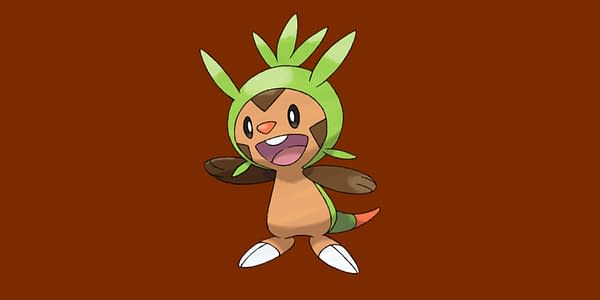 Chespin official artwork. Credit: The Pokémon Company International