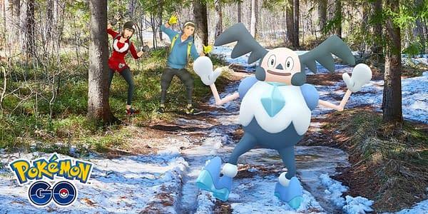 Galarian Mr. Mime promo in Pokémon GO. Credit: Niantic