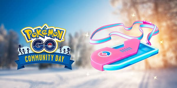 December Community Day ticket graphic in Pokémon GO. Credit: Niantic
