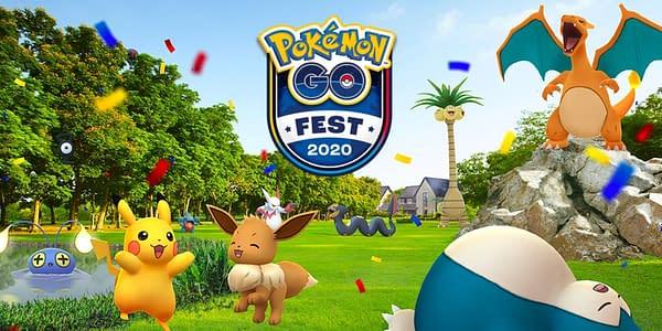 GO Fest 2020 promo image in Pokémon GO. Credit: Niantic