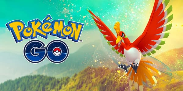 Ho-Oh in Pokémon GO. Credit: Niantic