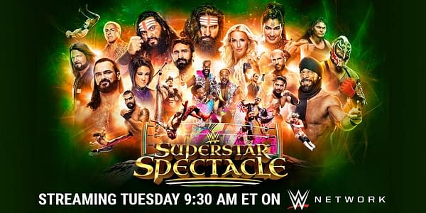 Official graphic for WWE Superstar Spectacle