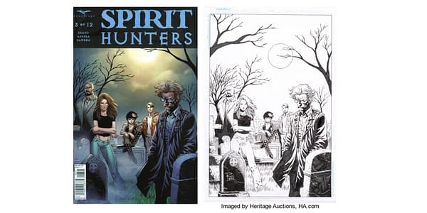 Spirit Hunters #3 Cover D by Renato Rei. Credit: Heritage Auctions