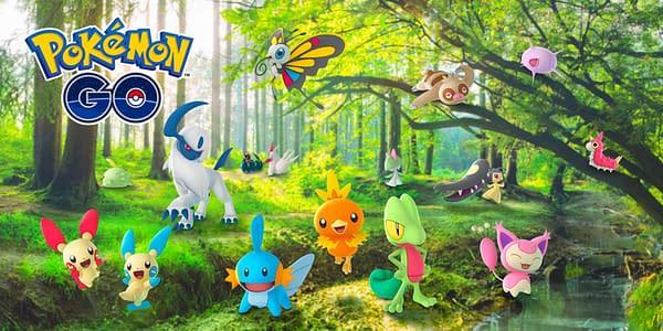 Hoenn Event promo in Pokémon GO. Credit: Niantic