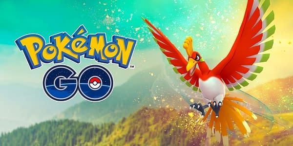 Ho-Oh in Pokémon GO. Credit: Niantic