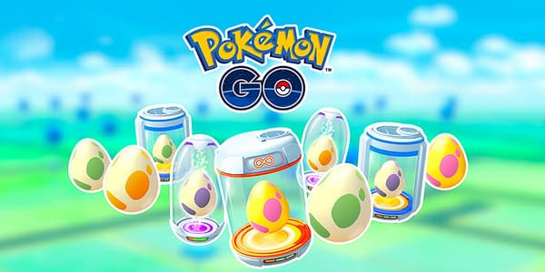 Eggs promo image in Pokémon GO. Credit: Niantic