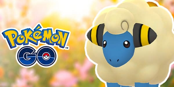 Mareep Incense Day image in Pokémon GO. Credit: Niantic