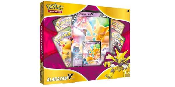 Alakazam V Box. Credit: Pokémon TCG