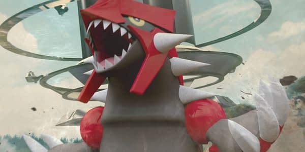 Groudon in Pokémon GO. Credit: Niantic