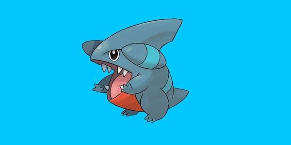 Gible official artwork. Credit: Pokémon Company International