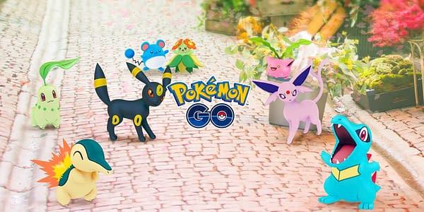 Johto Celebration image in Pokémon GO. Credit: Niantic