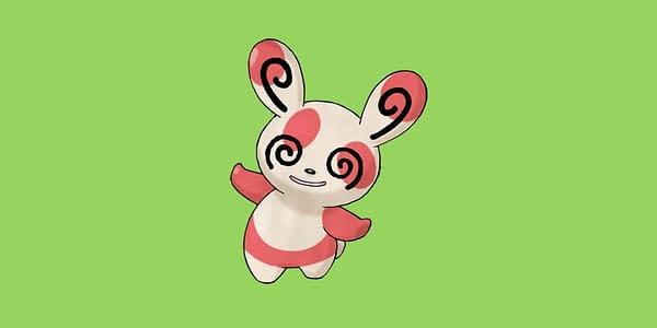 Spinda official artwork. Credit: Pokémon Company International