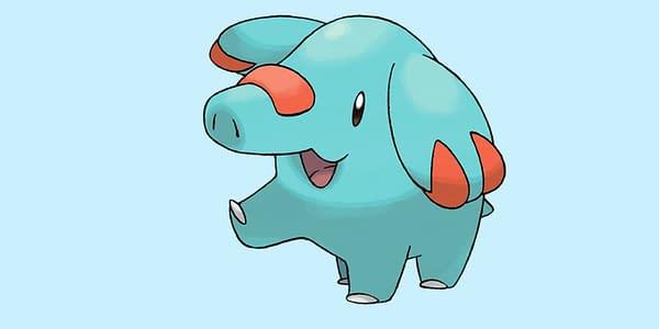 Phanpy official artwork. Credit: Pokémon Company International