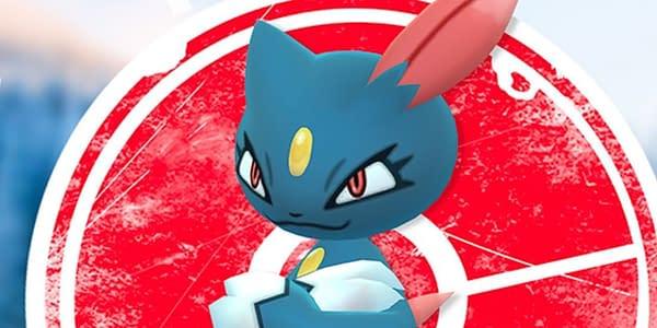 Sneasel in Pokémon GO. Credit: Niantic