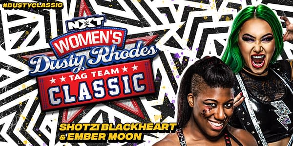 Shotzi Blackheart will team with Ember Moon in the NXT Women's Dusty Rhodes Tag Team Classic