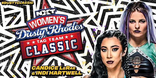 Candice LeRea will team with Indi Hartwell in the NXT Women's Dusty Rhodes Tag Team Classic