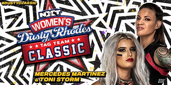 Mercedes Martinez will team with Toni Storm in the NXT Women's Dusty Rhodes Tag Team Classic