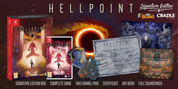 A look at the Hellpoint Signature Edition on the way next month, courtesy of Merge Games.