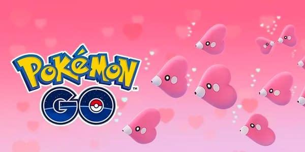 Pokémon GO Valentine's Day 2021 graphic. Credit: Niantic