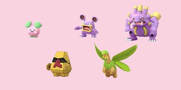 Unreleased Hoenn Shinies in Pokémon GO. Credit: Niantic