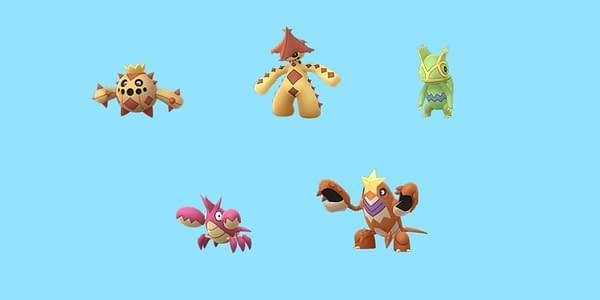 Hoenn Shinies in Pokémon GO. Credit: Niantic