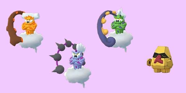 New Shinies in Pokémon GO. Credit: Niantic