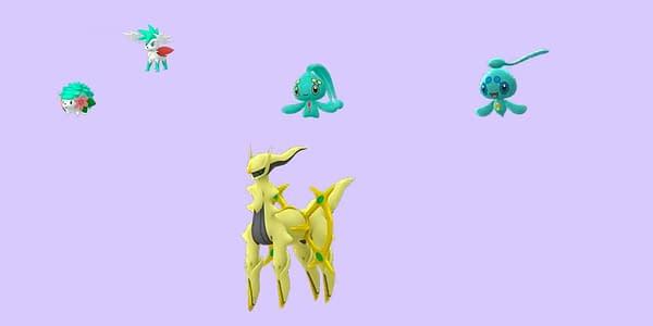 Sinnoh Shinies in Pokémon GO. Credit: Niantic