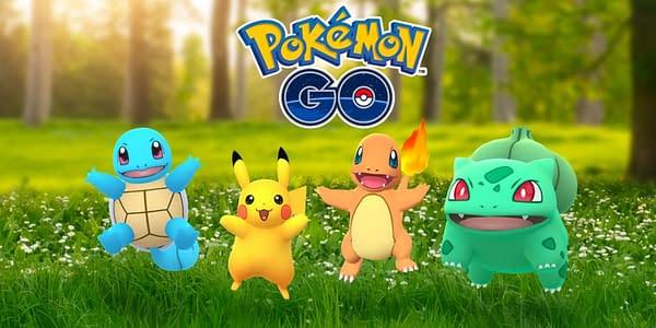 Kanto species in Pokémon GO. Credit: Niantic